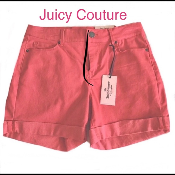 Juicy Couture Pants - Juicy Couture 💜💜SZ 2 Shorts Cayenne Coral NWT